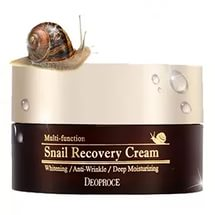DEOPROCE SNAIL RECOVERY CREAM 100ml - восстанавливающий крем с муцином улиток