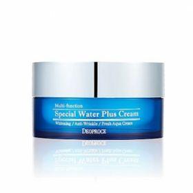 DEOPROCE SPECIAL WATER PLUS CREAM 100g - увлажняющий крем с антивозрастным и осветляющим эффектом