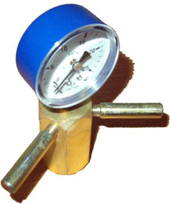 Измеритель давления в баллоне с прокладкой
