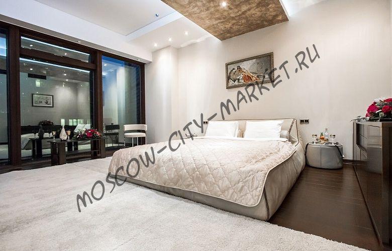 Романтическая ночь в Москва-Сити (Апартаменты Люкс с двумя спальнями )