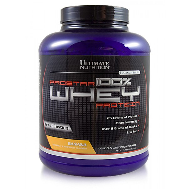 Whey 100% Prostar 2200 гр, Ultimate Nutrition