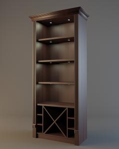 Шкаф для элитного алкоголя V019