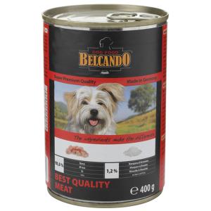 Консервы BELCANDO BEST QUALITY MEAT для собак всех пород с отборным мясом 800гр