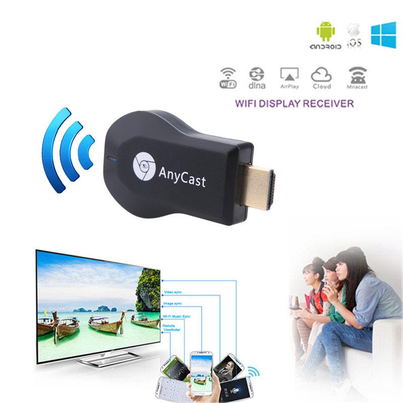 Беспроводной WiFi HDMI адаптер Anycast M2Plus с поддержкой DLNA, Miracast, AirPlay