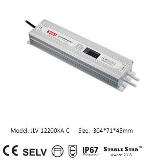 Источники питания 12 вольт герметичные IP67 (220AC->12DC)
