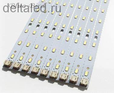 Комплекты светодиодных линеек и драйверов для светодиодных светильников 30-64 вт