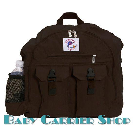 Сумка-рюкзак для вещей ERGO BABY «BACKPACK ORGANIC Dark Chocolate» [Эрго Беби BP9TO шоколад]