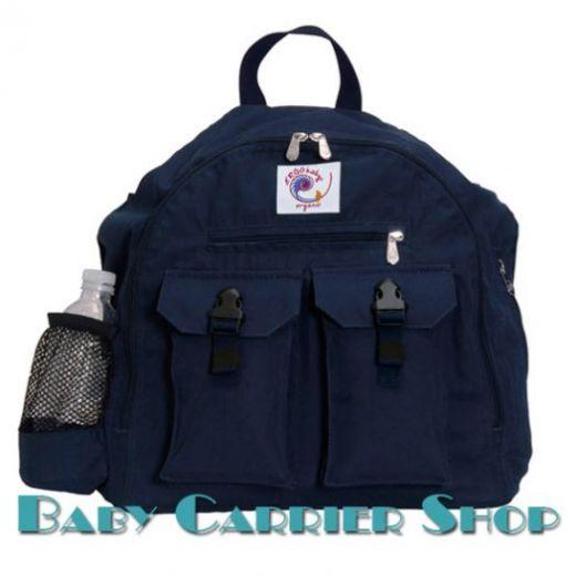 Сумка-рюкзак для вещей ERGO BABY «BACKPACK ORGANIC Navy» [Эрго Беби BP12TO темно-синий]