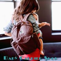 ERGO Baby TRAVEL BACKPACK ORGANIC Dark Chocolate DPO205