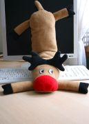 Новогодний подарок - подушка Лосяш