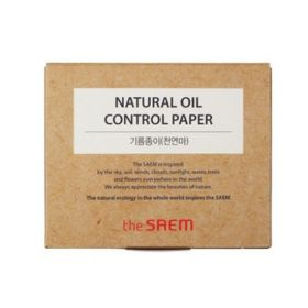 The Saem Natural Oil-Paper - Матирующие салфетки