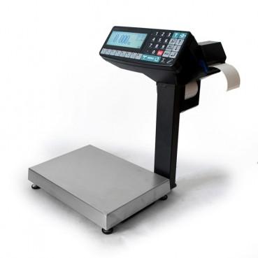 Фасовочные весы-регистраторы с печатью этикеток и чеков МАССА МК-6.2-RP10