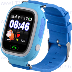 Детские часы Smart Baby Watch Q80 Blue