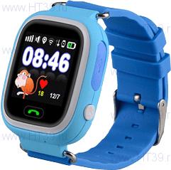 Детские часы Smart Baby Watch Q80 Blue