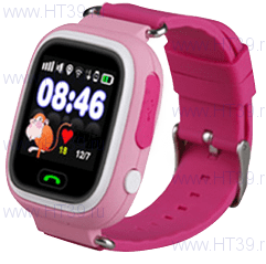 Детские часы Smart Baby Watch Q80 Pink