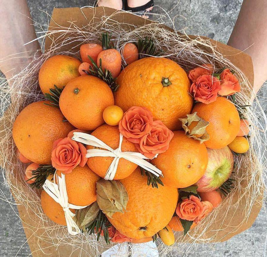 Букет Оранжевое настроение