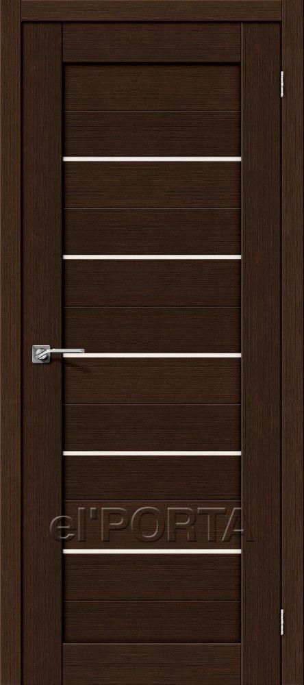 Межкомнатная дверь ПОРТА-22 Wenge