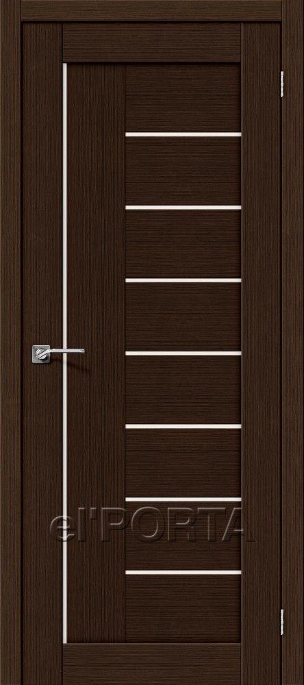 Межкомнатная дверь ПОРТА-29 Wenge
