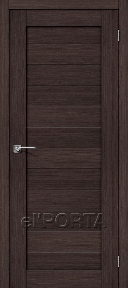 Межкомнатная дверь ПОРТА X-21 Wenge Veralinga