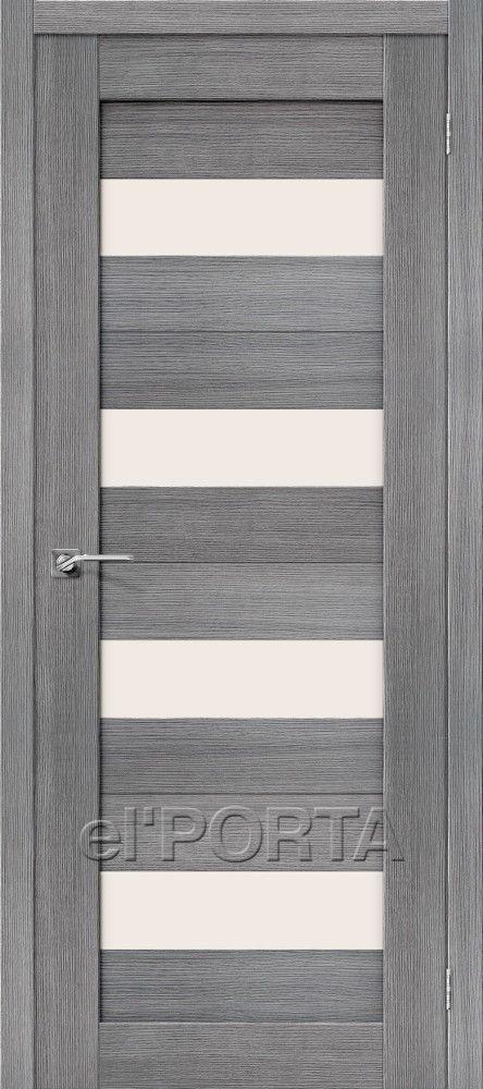 Межкомнатная дверь ПОРТА X-23 Grey Veralingа