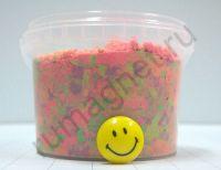 купить разноцветный кинетический песок для детей