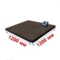 Весы платформенные МИДЛ МП 600 ВЕДА Ф-1 (100/200; 1200х1200) «Циклоп 12»