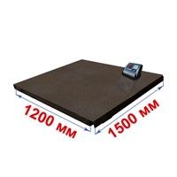 Весы платформенные МИДЛ МП 1000 ВЕДА Ф-1 (200/500; 1200х1500) «Циклоп 12»