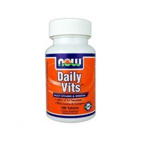 Витамины Daily Vits 100таб. (NOW)