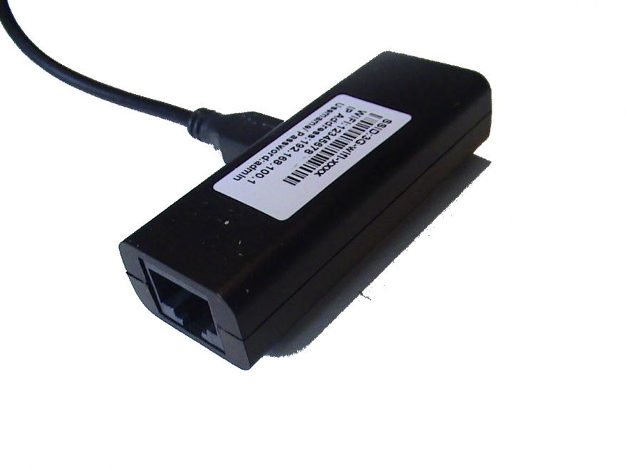 Переходник для IP камеры Ethernet -> WiFi