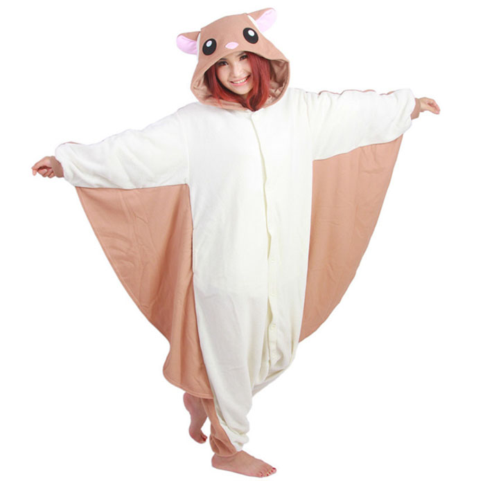 Пижама Кигуруми Белка Летяга Премиум