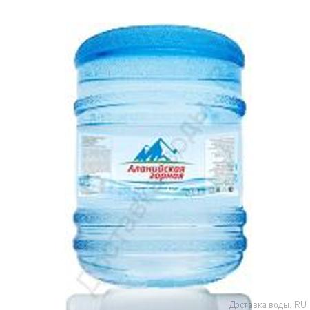 """Питьевая  вода """"Аланийская горная"""""""
