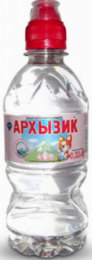 Вода Архызик негаз 0,33 литра спорт (1 уп./12 бут.)