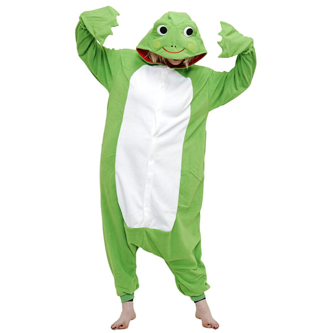 Пижама Кигуруми Лягушка Премиум