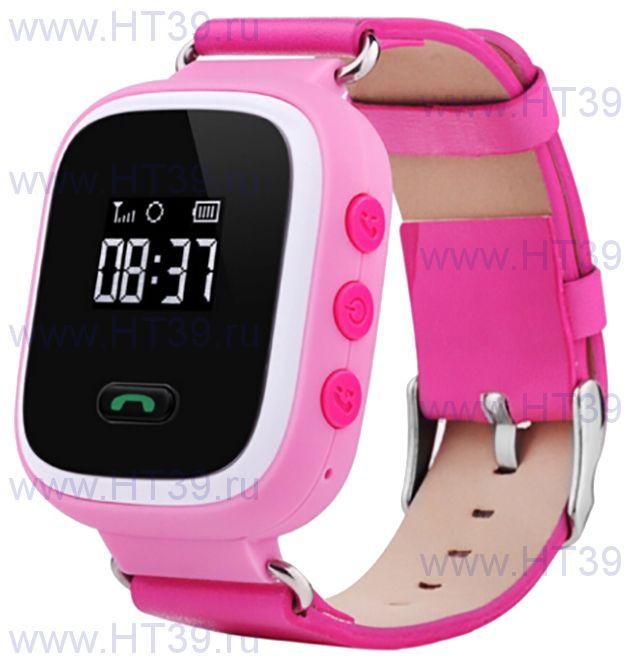 Детские часы Smart Baby Watch Q60 Pink