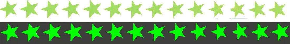 Звезды 11 элементов на листе