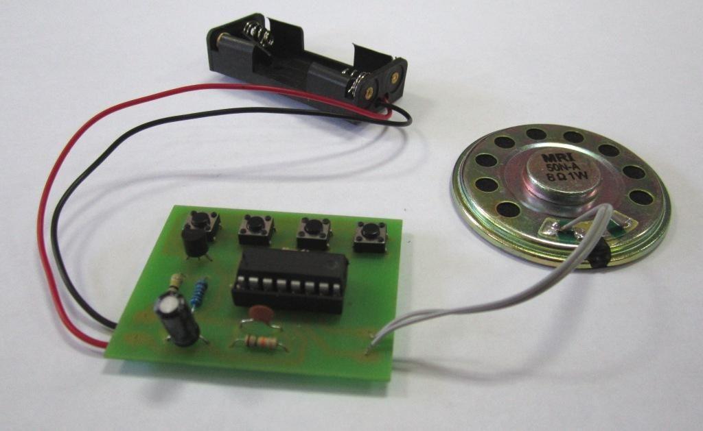 Электронный конструктор с пайкой