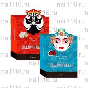 БР Маска тканевая для лица Peking opera mask series -KING король