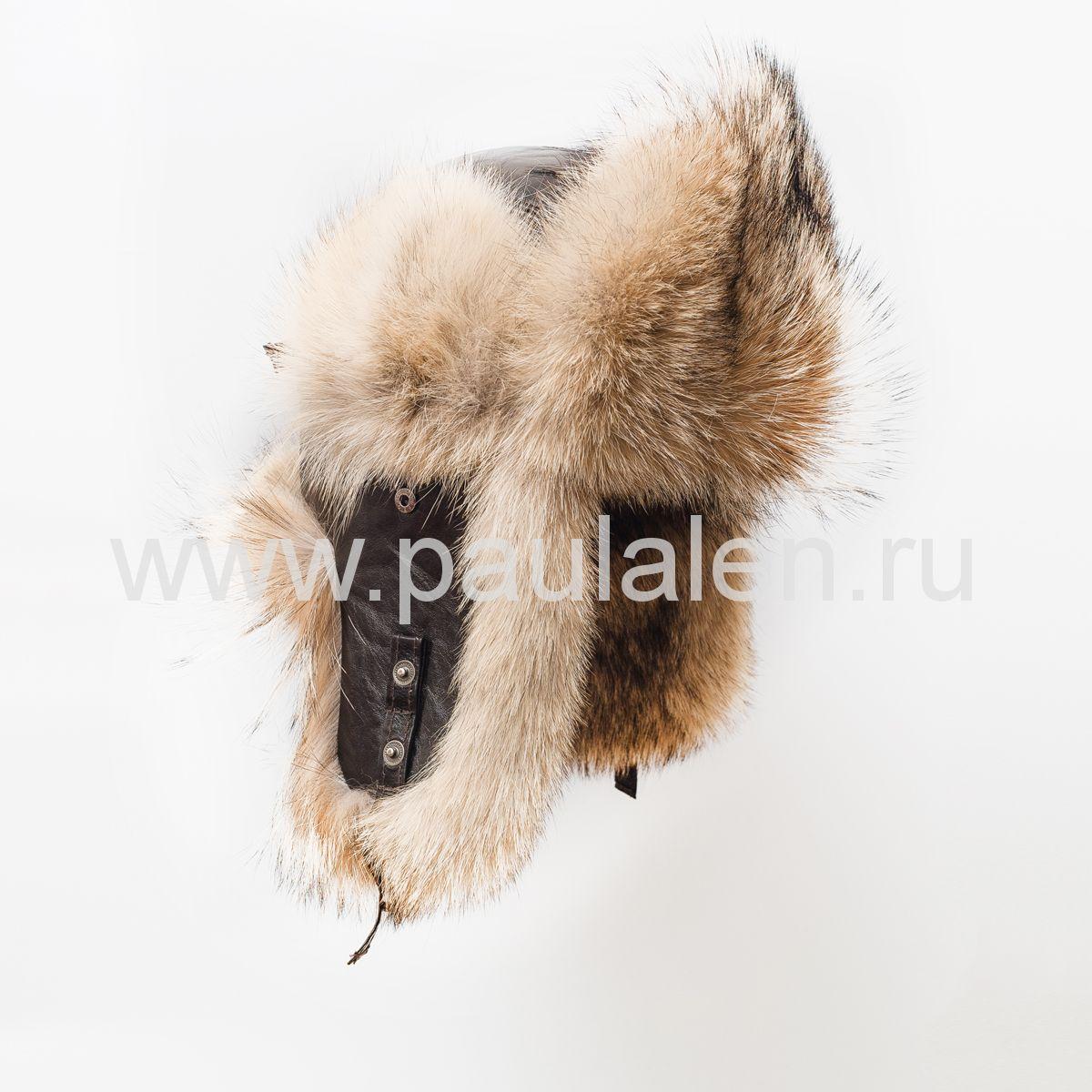 ушанка из волка