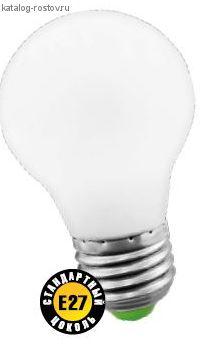"""Лампа """"груша"""" Е27 светодиод. (LED) 10Вт холод.-бел. 230В Navigator"""