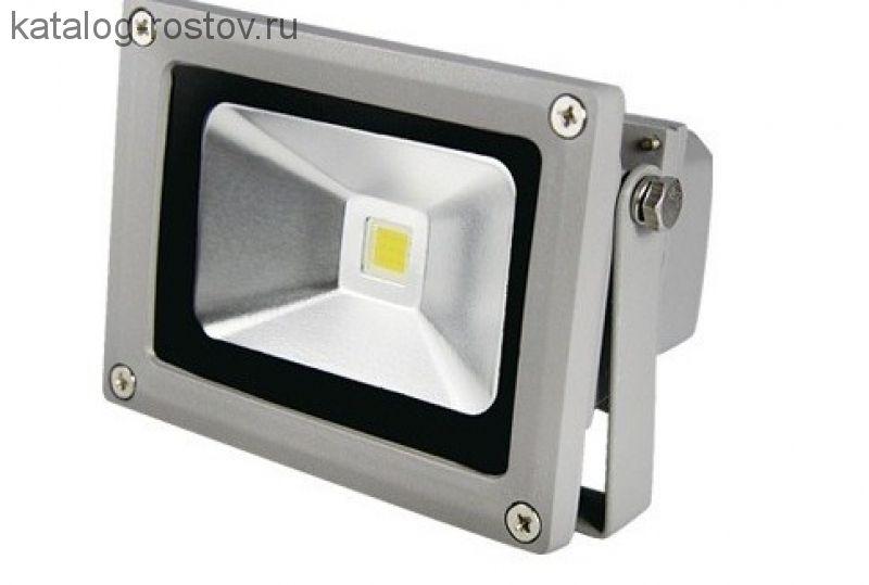 Прожектор (LED) 10Вт 800лм дневн. 6000К IP65 сер. IEK