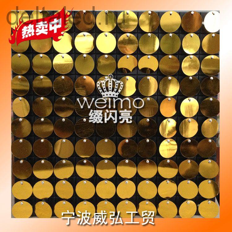 Декоративная панель WEIMO - живая вывеска 30*30 см (10*10 блесток)
