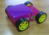 шасси робота 4-хколесное