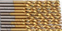 Сверло по металлу 1,5 мм, с титановым покрытием. HSS-TiN