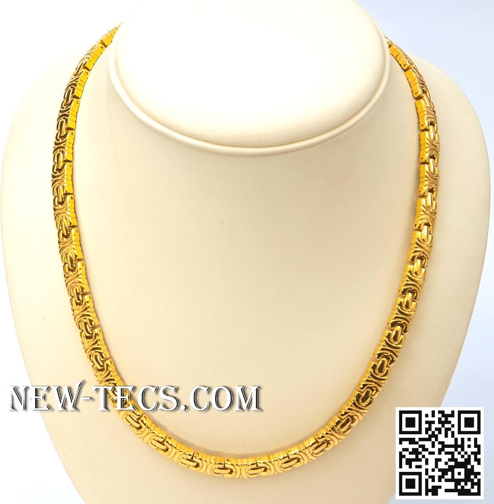Ожерелье с Германием и Гематитом