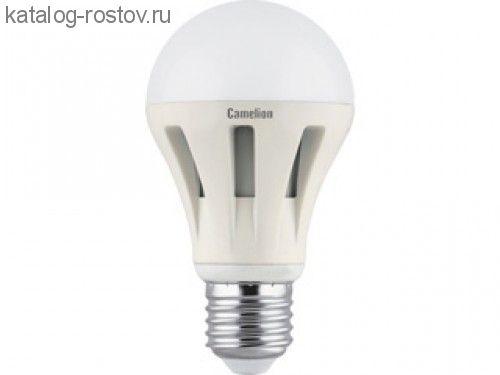 """Лампа """"груша"""" Е27 светодиод. (LED) 12Вт тепло-бел. 230В Camelion"""