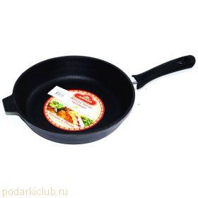 Сковорода-гриль чугунная Добрыня DO-3326 (28 см.) (код 24)