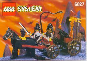 6027 Лего Катапульта рыцарей Летучей мыши