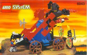 6043 Лего Катапульта рыцарей Дракона