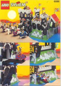 6086 Лего Замок Черных рыцарей