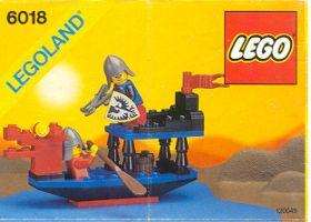 6018 Лего Лодка рыцарей Сокола